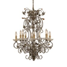 <strong>Classic Lighting</strong> Bella Uva 6 Light Chandelier