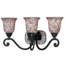 <strong>Classic Lighting</strong> Pearl River 3 Light Bath Vanity Light