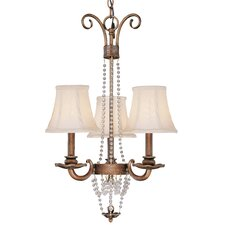 Grace 3 Light Mini-Chandelier