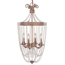 Grace 4 Light Outdoor Hanging Lantern