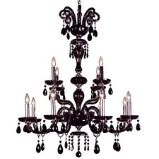 Monte Carlo 12 Light Chandelier