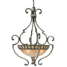 <strong>Classic Lighting</strong> Westchester 4 Light Inverted Pendant