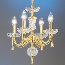 Weatherford Rope 4 Light Mini-Chandelier