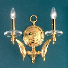 <strong>Classic Lighting</strong> Cresskill 2 Light Wall Sconce