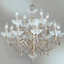 <strong>Classic Lighting</strong> Devonshire 12 Light Chandelier