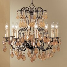 <strong>Classic Lighting</strong> Parisian 8 Light Chandelier