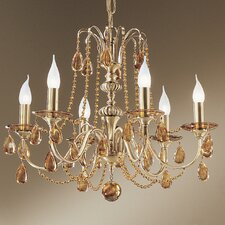 <strong>Classic Lighting</strong> Brussels 6 Light Chandelier