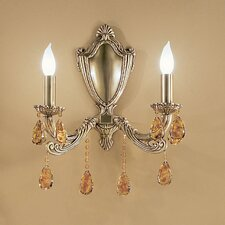 Palatial 2 Light Wall Sconce