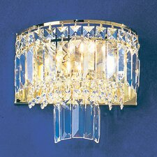 <strong>Classic Lighting</strong> Ambassador 2 Light Wall Sconce