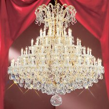 <strong>Classic Lighting</strong> Maria Thersea 84 Light Chandelier