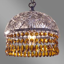 <strong>Classic Lighting</strong> Prague Color 1 Light Pendant