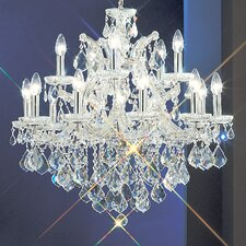 <strong>Classic Lighting</strong> Maria Thersea 16 Light Chandelier