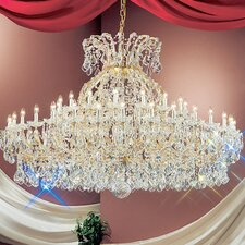 <strong>Classic Lighting</strong> Maria Thersea 49 Light Chandelier