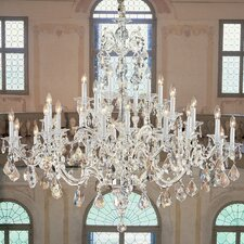 <strong>Classic Lighting</strong> Via Firenze 30 Light Chandelier