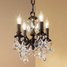 <strong>Classic Lighting</strong> Majestic Imperial 4 Light Mini-Chandelier
