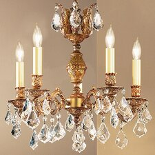 <strong>Classic Lighting</strong> Chateau 5 Light Chandelier