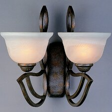<strong>Classic Lighting</strong> 2 Light Wall Sconce