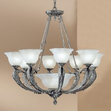 <strong>Classic Lighting</strong> Victorian II 9 Light Chandelier