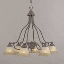 <strong>Classic Lighting</strong> Providence 6 Light Chandelier