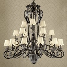 <strong>Classic Lighting</strong> Alexis 21 Light Chandelier