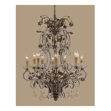 <strong>Classic Lighting</strong> Bella Uva 10 Light Chandelier