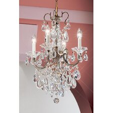 <strong>Classic Lighting</strong> Via Venteo 4 Light Mini-Chandelier