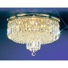 Ambassador 7 Light Semi-Flush Mount