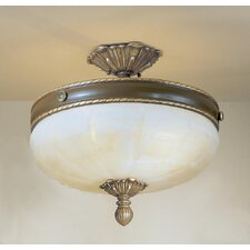 Alexandria II 4 Light Semi-Flush Mount