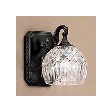 <strong>Classic Lighting</strong> Waterbury 1 Light Wall Sconce