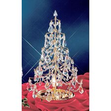 "Cheryls 1' 9"" Artificial Christmas Tree with 1 Light"