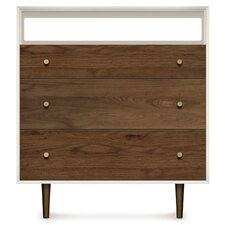 Mimo 3 Drawer Dresser and TV Organizer