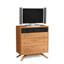 <strong>Copeland Furniture</strong> Astrid 3 Drawer Chest with Media Organizer