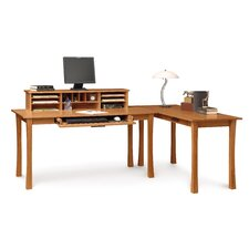 <strong>Copeland Furniture</strong> Berkeley Desk with Keyboard Tray