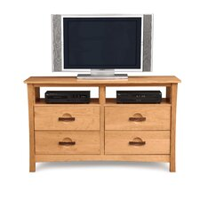<strong>Copeland Furniture</strong> Berkeley 4 Drawer Dresser with Media Organizer