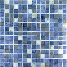 "Project Plus 13"" x 13"" Glass Mosaic in Mix Grigio Bronze"