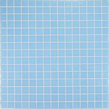 "<strong>Casa Italia</strong> Project Base 13"" x 13"" Glass Mosaic in Light Blue Basic"