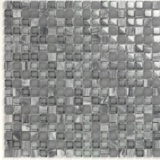 Pure & Natural Natural Stone and Glass Mosaic in Pure Blue Stone