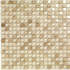 Pure & Natural Stone and Glass Mosaic in Pure Light Emperador