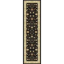 Noble Art Black Traditional Rug