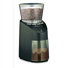 <strong>Capresso</strong> Infinity Conical Burr Grinder in Black