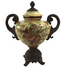Fleur De Lis Floral Designs Decorative Urn