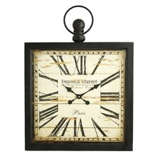 Olivia Square Wall Clock