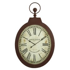 Louis Oval Wall Clock