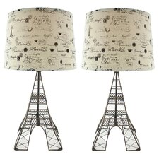 Eiffel Tower Table Lamp (Set of 2)