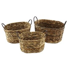 Anakin 3 Piece Wicker Basket Set