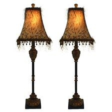 Emelia Buffet Table Lamp (Set of 2)