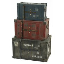 Broderick 2 Piece Container Trunk Set