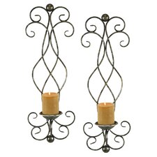 Estelle Metal Sconce (Set of 2)