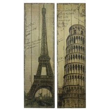 Jillian 2 Piece Monument Wall Decor Set