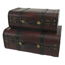 Rothschild 2 Piece Suitcase Trunk Set